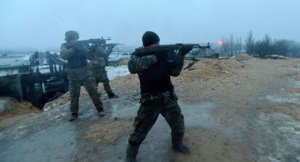 德国政治家:500来自美国的雇佣兵在乌克兰参战