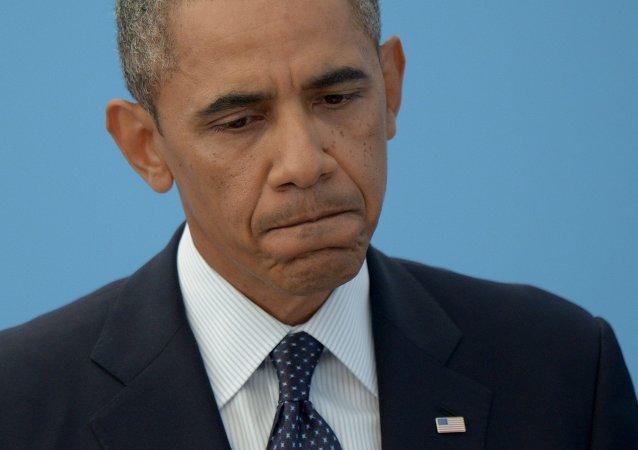 媒體:美國記者稱普京挑戰美國領導地位令奧巴馬惱羞成怒