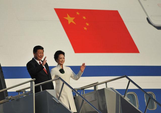 中國國家主席習近平離京出訪拉美三國並出席APEC會議