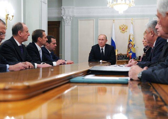 普京:俄罗斯不会以主权做交易