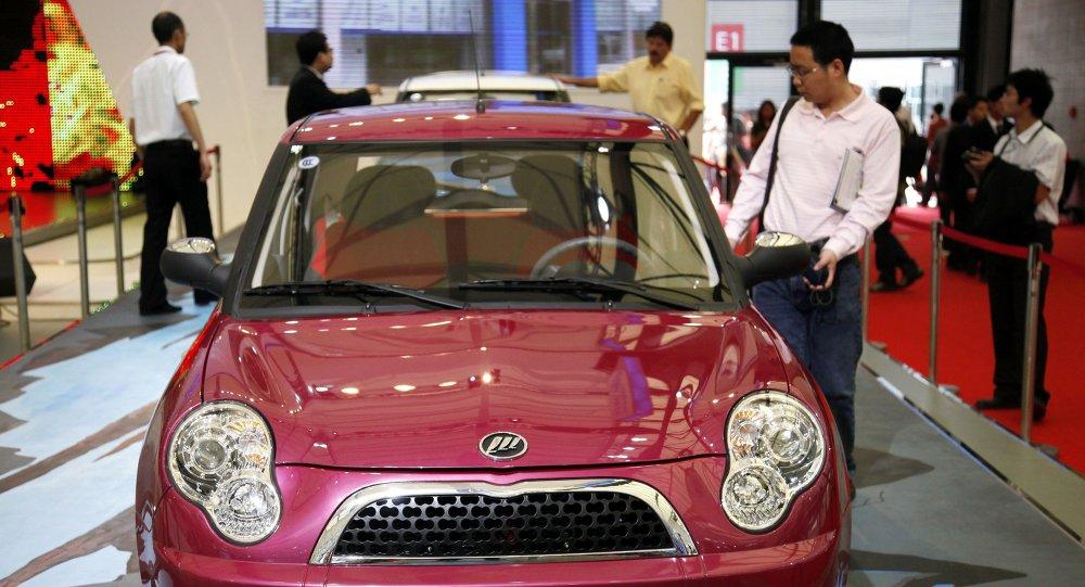 中国俄产汽车进口额排第三名