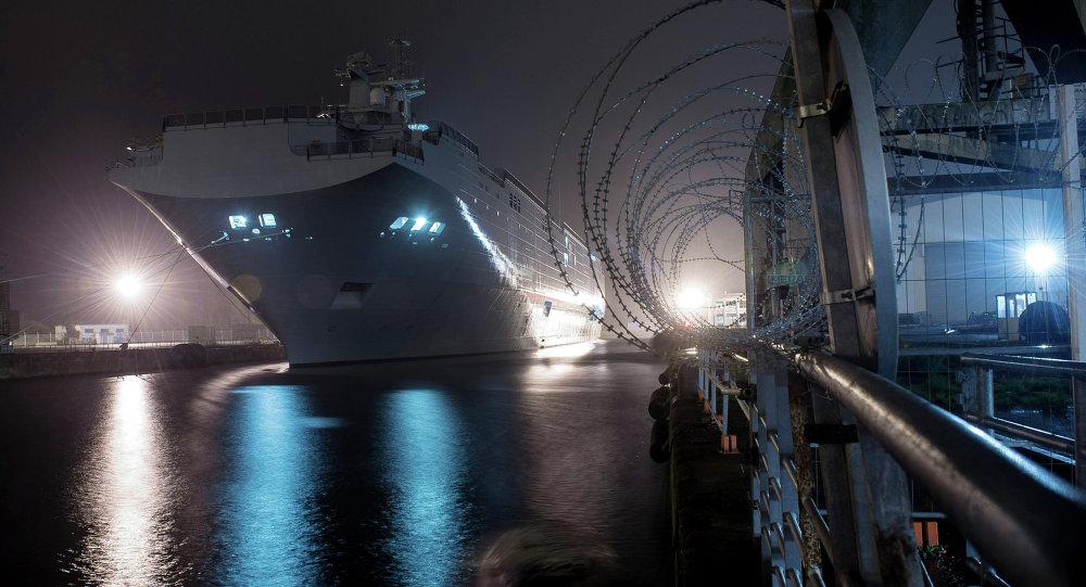 俄海军上将:俄罗斯不需要易受攻击的直升机航母