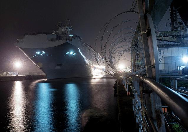 法國前工貿部長:必須執行向俄提供「西北風」級直升機航母合同
