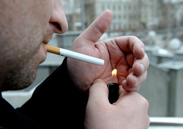 俄罗斯吸烟者数量近年来显著下降