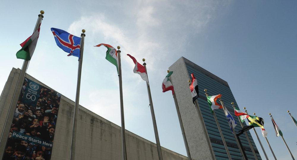 俄外交官在聯合國宣讀俄美就敘問題協議的部分條款