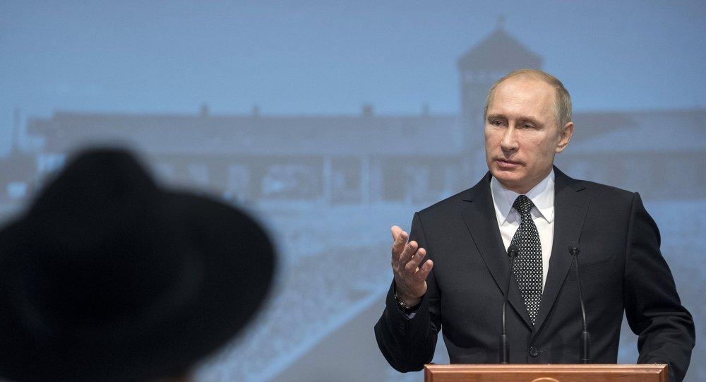 普京:企圖篡改歷史的背後就是要掩蓋自己的恥辱