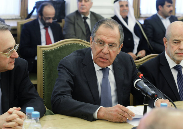 在莫斯科舉行的敘利亞間磋商