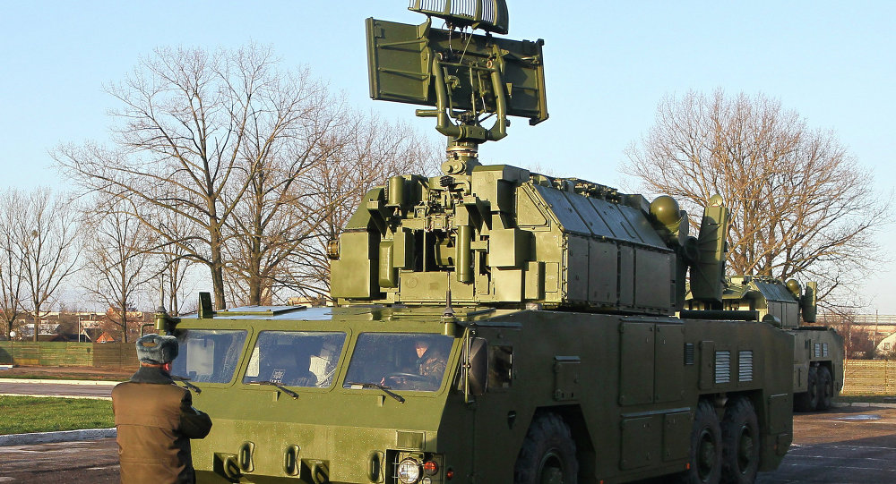 """""""托尔""""防空导弹系统"""