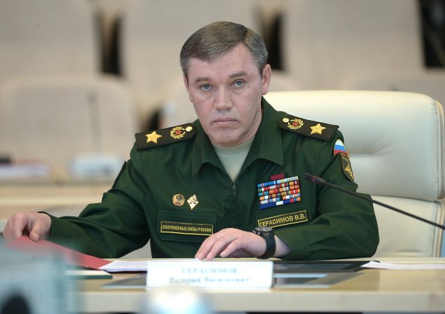 俄羅斯武裝力量總參謀長瓦列里•格拉西莫夫