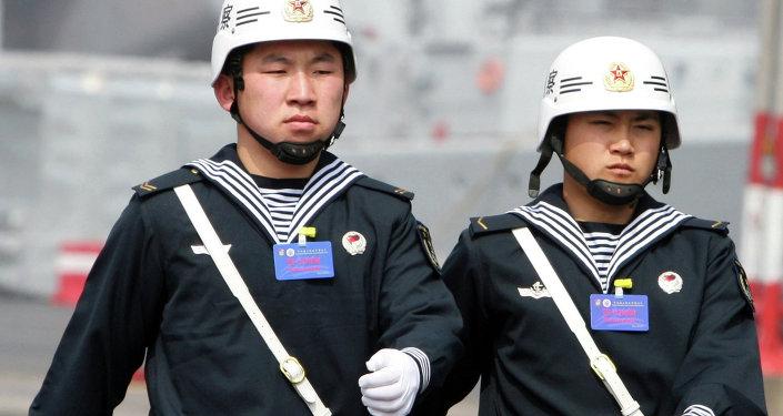 中国在自己势力范围外加强军力