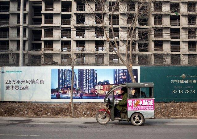 外媒:中國 – 債務和建築工地如影隨形