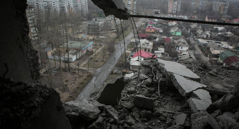目擊者:頓涅茨克響起轟隆排炮聲
