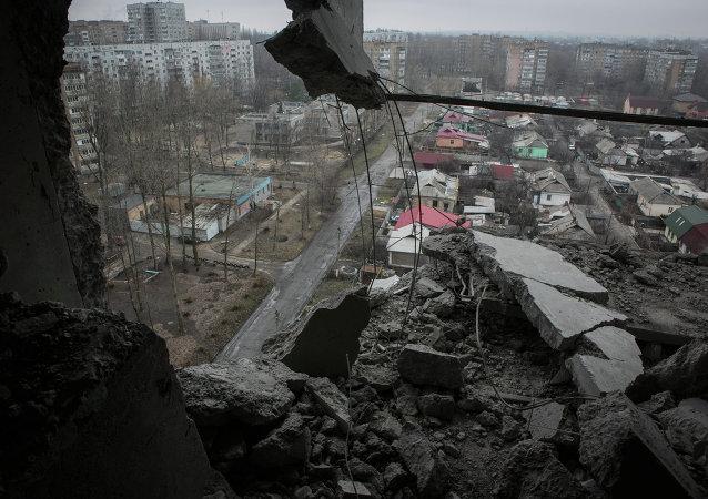 俄副外長:聯合國秘書長未與烏克蘭總統商定向頓巴斯派遣維和人員