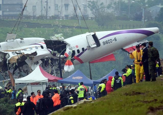 台湾复兴航空失事客机机组关错发动机