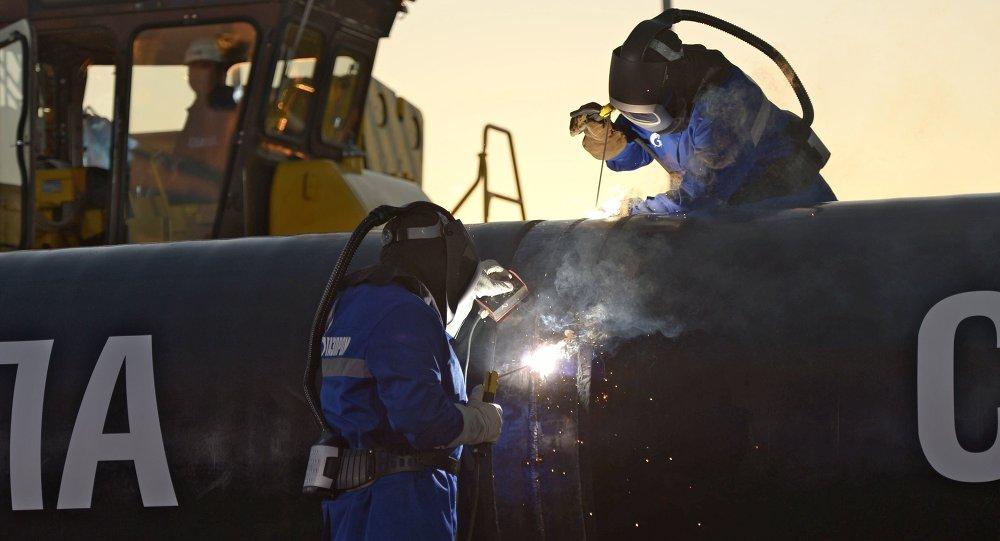 """中国将在2019年年底前完成""""西伯利亚力量""""天然气管线的中国境内建设部分"""