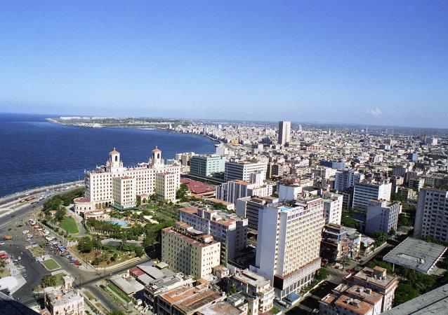 古巴領導人勞爾·卡斯特羅會見俄石油總裁謝欽