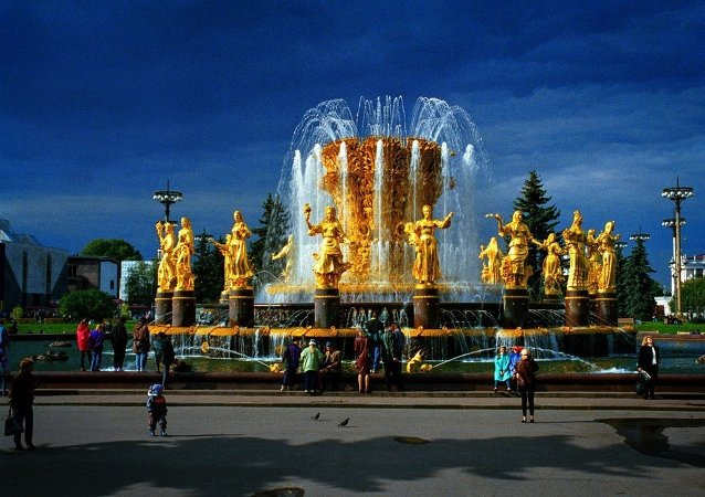 人民友谊喷泉, 莫斯科