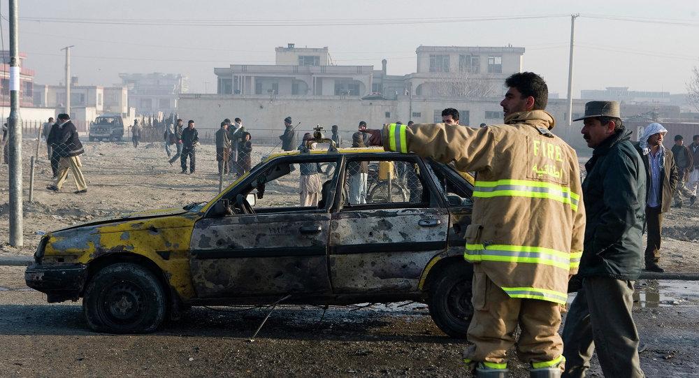 阿富汗三起爆炸造成33人死亡100人受傷