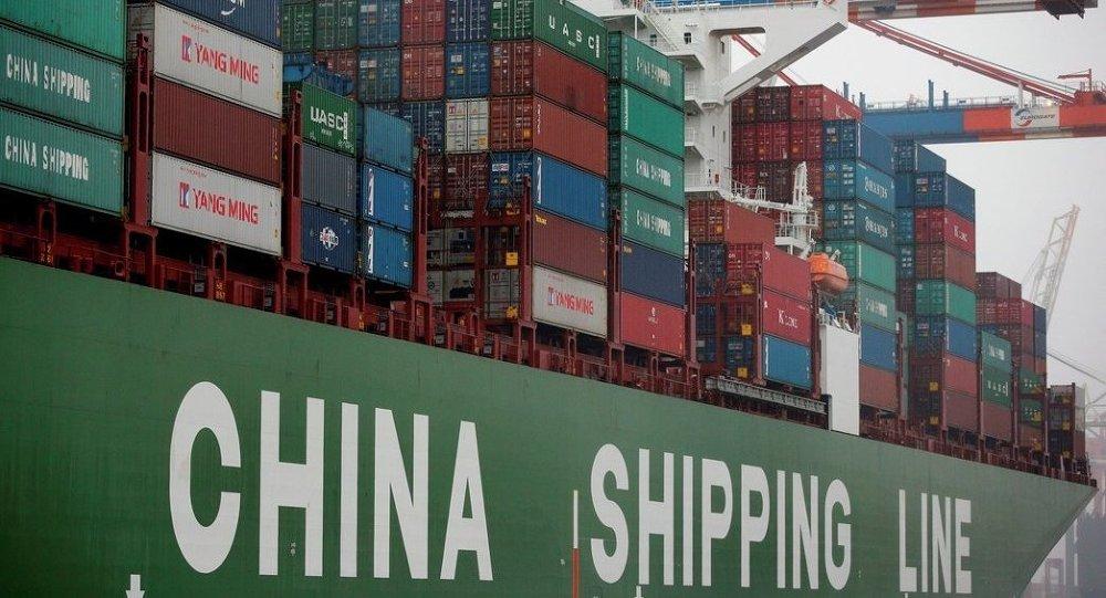 中国2015年前三季度进出口总值同比下降近8%