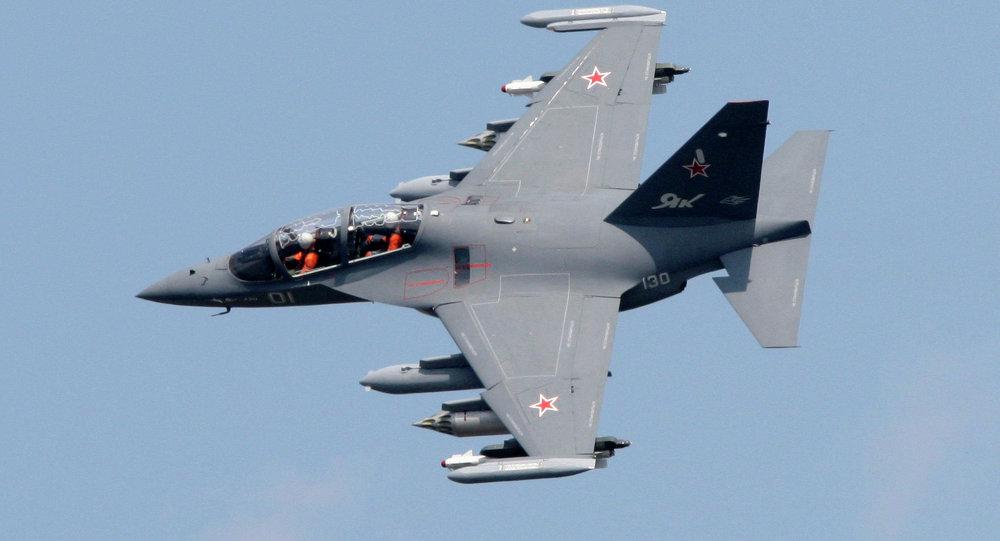 一架雅克-130教練機在沃羅涅日州墜毀,無人員死亡