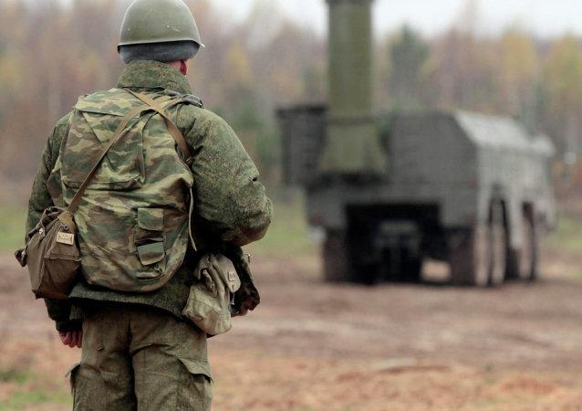 俄新型导弹系统隐蔽部署军演在俄中部地区完成