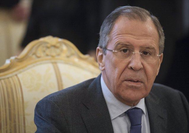 俄羅斯外長謝爾蓋•拉夫羅夫