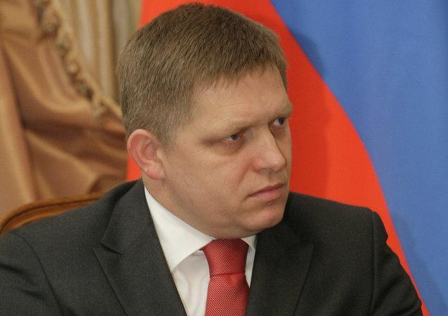 斯洛伐克總理羅伯特·菲喬