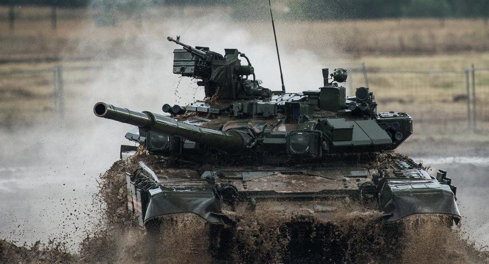 一些中东国家决定采购俄制T-90型坦克