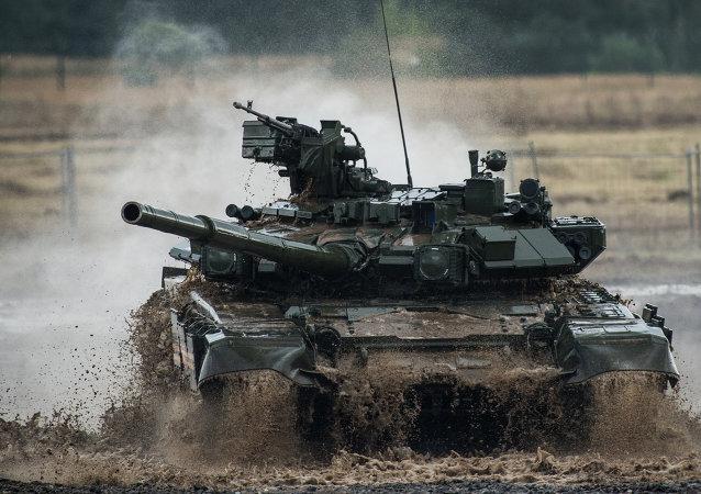 印度将驾驶自己坦克参加2017年坦克两项竞赛