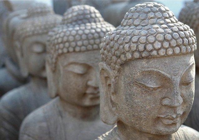 佛像內的和尚木乃伊距今有近1000年歷史
