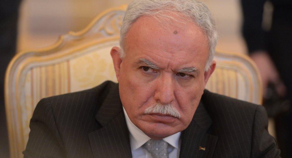 巴勒斯坦外長利亞德·馬利基
