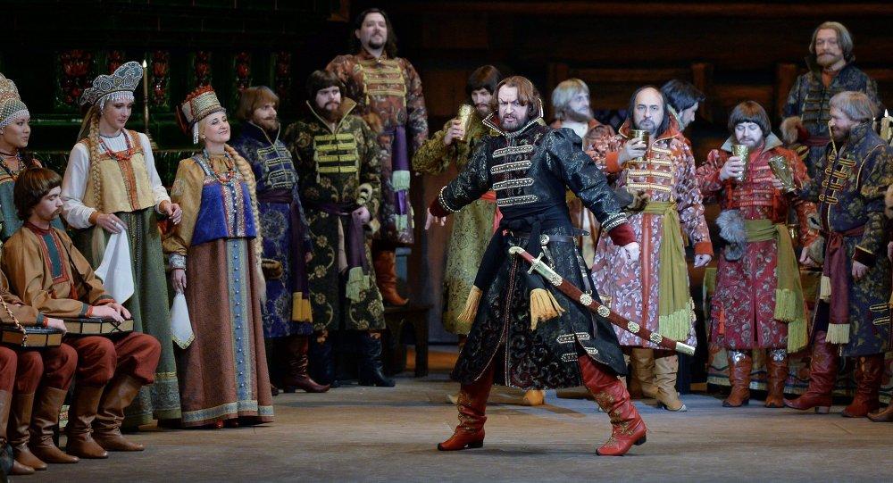 里姆斯基-科爾薩科夫的歌劇《沙皇的新娘》