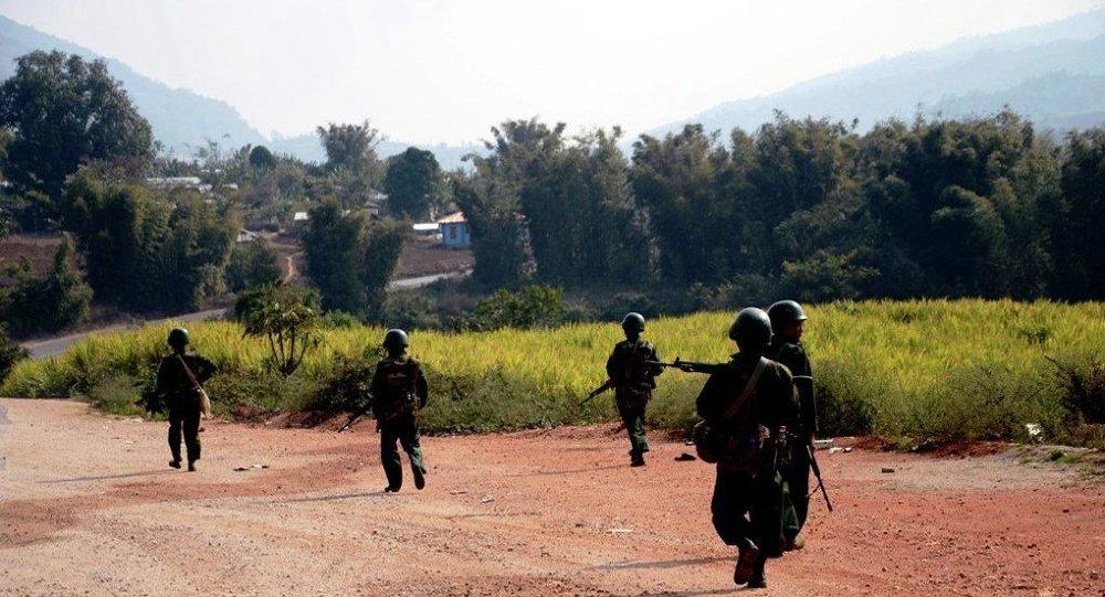 與中國交界的緬北衝突再度升級