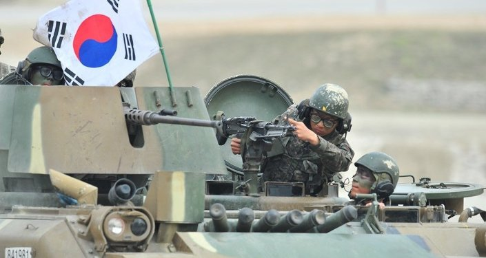 韩国防部:取消韩美军演的决定可能7月做出