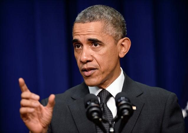 媒体:奥巴马不排除俄罗斯对美国竞选施加影响的可能