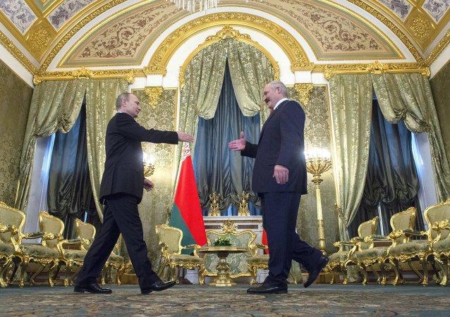 俄白聯盟國家最高國務委員會會議在莫斯科舉行