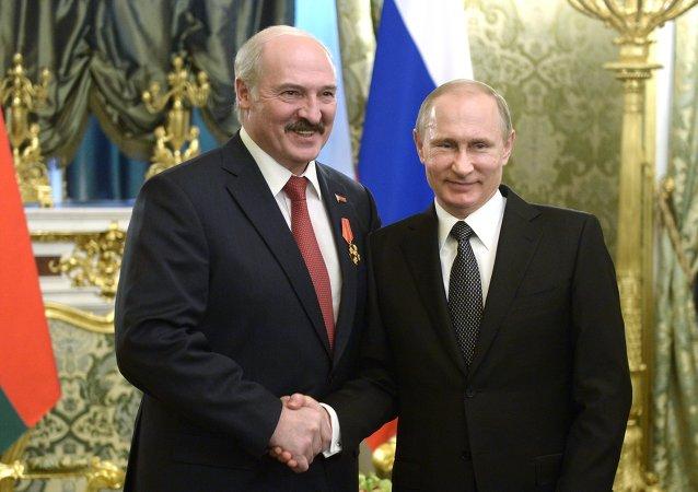 普京和盧卡申科