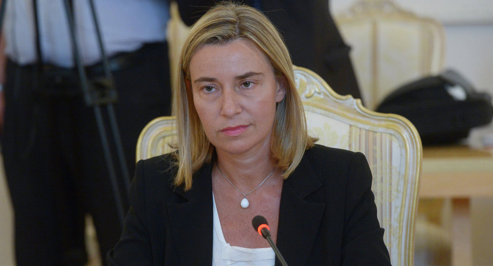 莫盖里尼:欧盟不会卷入欧洲对抗包括与俄罗斯