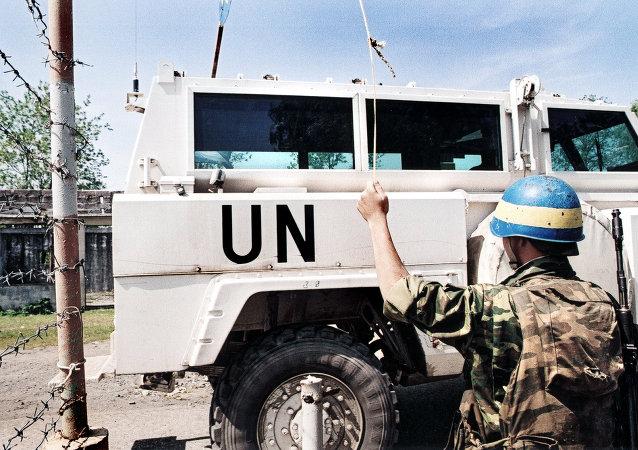 联合国维和人员(资料图片)