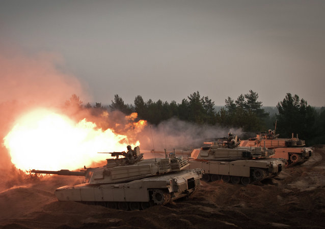 拉脫維亞野戰戰術訓練在北約軍事演習框架下開始