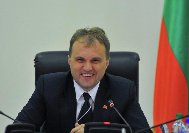 德涅斯特河沿岸共和国领导人叶夫根尼•舍夫丘克