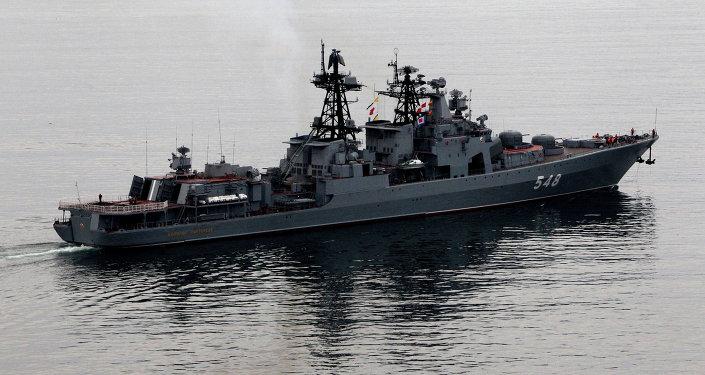 俄太平洋舰队作战舰艇支队完成对斯里兰卡访问