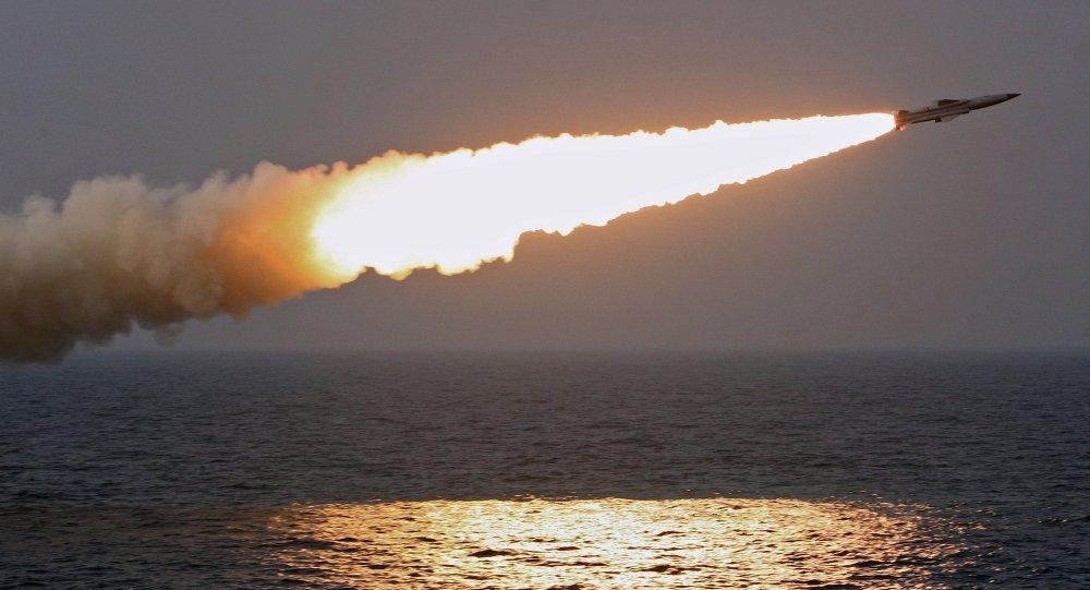 朝鮮在黃海舉行炮兵定期演習