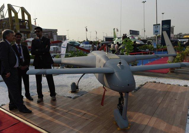 巴基斯坦首架自主研发的无人机顺利通过测试