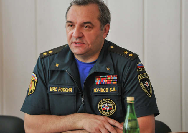 俄羅斯緊急情況部部長弗拉基米爾•普奇科夫