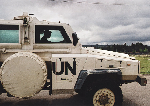 维持和平部队(资料图片)