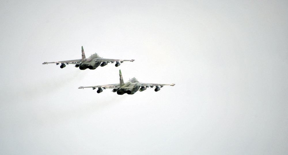 亚美尼亚国防部:一架苏-25飞机失联