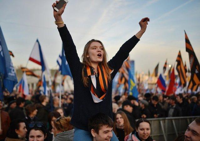 民調顯示82%的俄公民為生活在俄羅斯而驕傲