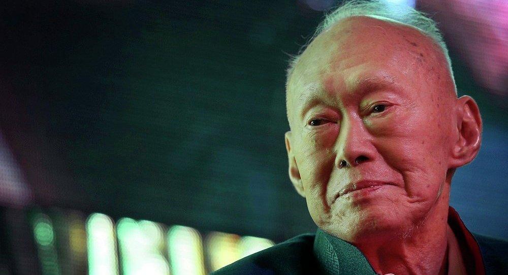 李光耀因病于今天去世