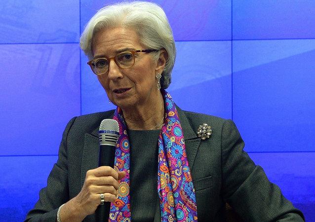 國際貨幣基金組織(IMF)總裁克里斯蒂娜·拉加德